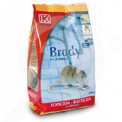 kollant rodenticide brody pasta 200g - 4