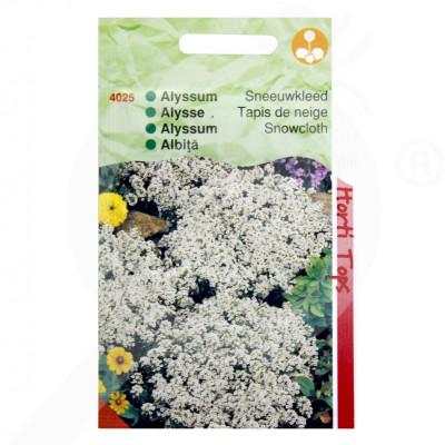 eu pieterpikzonen seed alyssum snowcloth 0 5 g - 1
