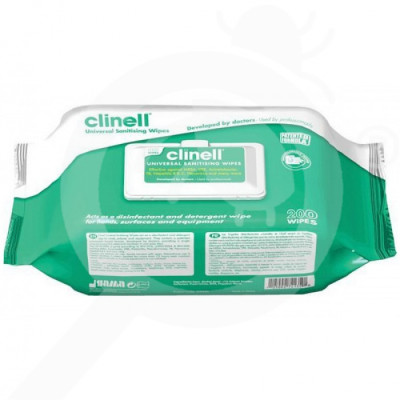gama healthcare disinfectant clinell 4 in 1 200 per bag - 1
