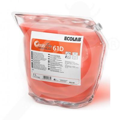 eu ecolab detergent oasis pro 61d premium 2 l - 1