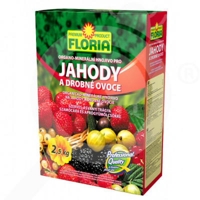 eu agro cs fertilizer organo mineral strawberry 2 5 kg - 0