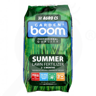 eu garden boom fertilizer summer 20 00 20 2mgo 15 kg - 0