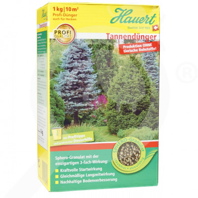 eu hauert fertilizer ornamental conifer shrub 1 kg - 0