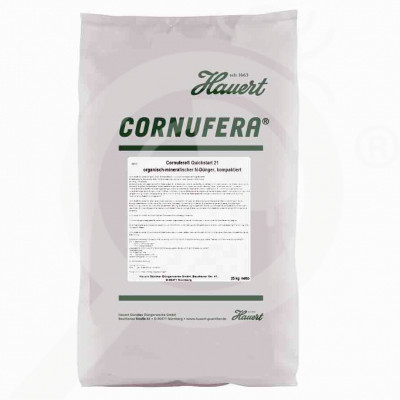 eu hauert fertilizer grass cornufera quickstart 21 25 kg - 0