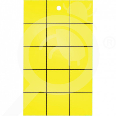 eu catchmaster adhesive trap yellow sticky cards set of 72 - 0