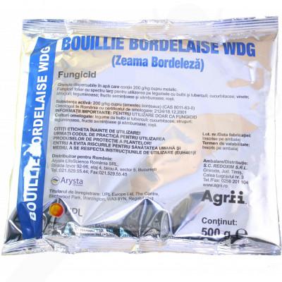eu upl fungicide bouille bordelaise wdg 500 g - 1