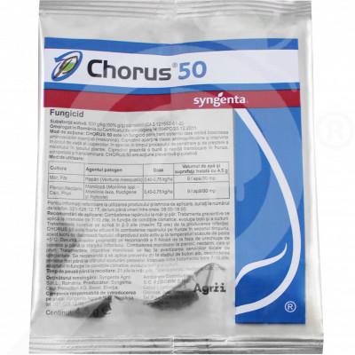 eu syngenta fungicide chorus 50 wg 4 5 g - 1