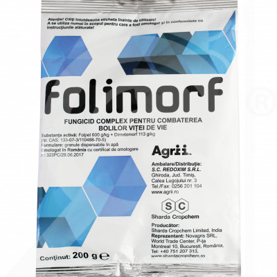 eu sharda cropchem fungicide folimorf wg 200 g - 0