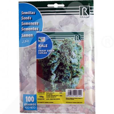 eu rocalba seed green dwarf kale curled 100 g - 0