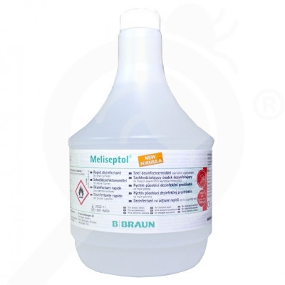eu b braun disinfectant meliseptol 1 l - 2