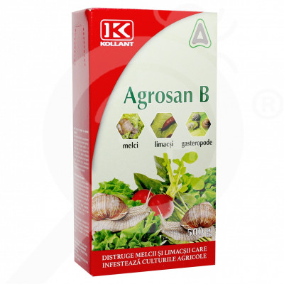 eu kollant molluscocide agrosan b box 500 g - 0
