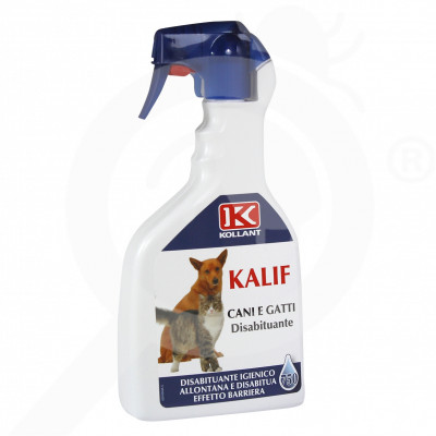 eu kollant repellent kalif dogs cats 750 ml - 3