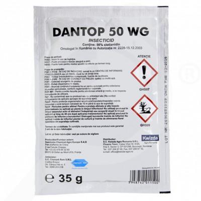 eu kwizda insecticid agro dantop 50 wg 35 g - 1
