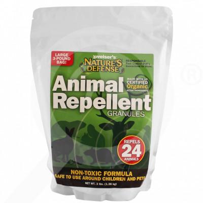eu bird x repellent nature s defense animal repellent 1 36 kg - 3