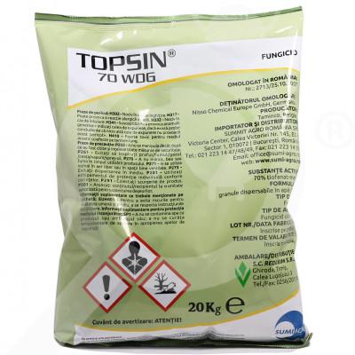 eu nippon soda fungicid topsin 70 wdg 20 kg - 1