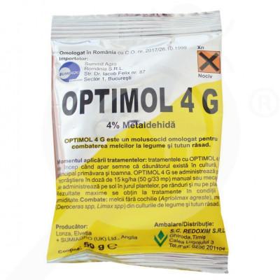eu lonza molluscocide optimol 4 g 50 g - 0