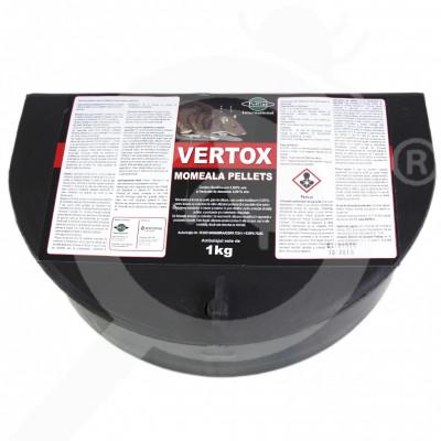 eu pelgar rodenticide vertox pellet 1 kg bait station - 0