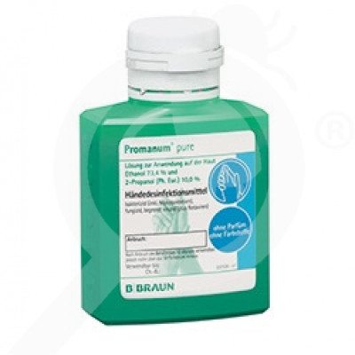 b braun disinfectant promanum pure 100 ml - 1