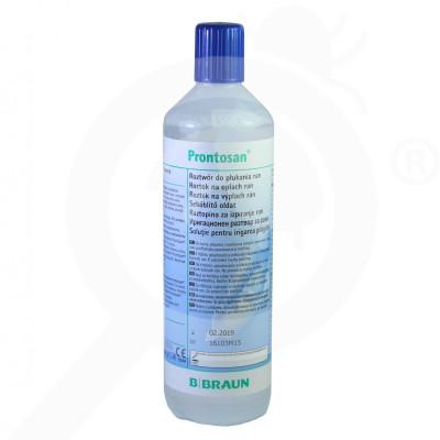 b braun disinfectant prontosan solution 350 ml - 2