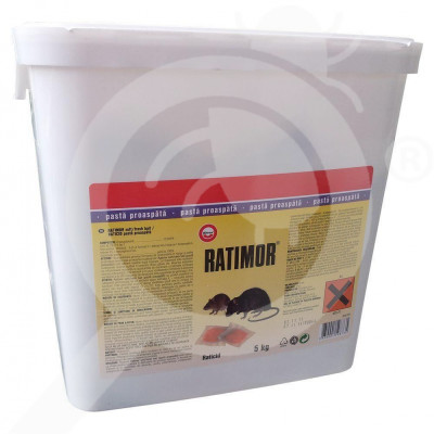 eu unichem rodenticide ratimor paste 5 kg - 0