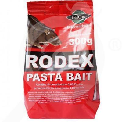 pelgar rodenticide rodex pasta bait 300 g - 1