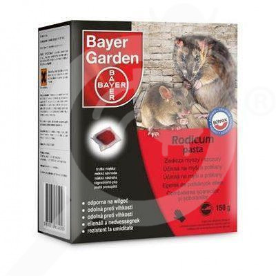 bayer rodenticide rodicum pasta 150 g - 1
