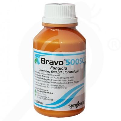 eu syngenta fungicid bravo 500 sc 200 ml - 1