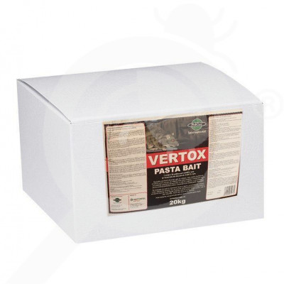 pelgar rodenticide vertox pasta bait 20 kg - 1