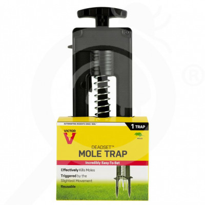 eu woodstream trap victor deadset m9015 mole trap - 0
