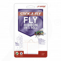eu jt eaton adhesive trap stick a fly ribbon on a roll - 0, small