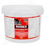 pelgar rodenticide rodex whole wheat 5 kg - 1, small