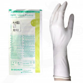 eu b braun gloves vasco surgical powdered 6 5 2 p - 1, small