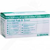 b braun disinfectant alcohol pads 100 box - 2, small