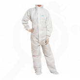 deltaplus safety equipment protective coverall dt117 l - 1, small
