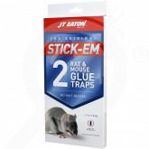 eu jt eaton adhesive plate stick em rat and mouse l 2 p - 1, small