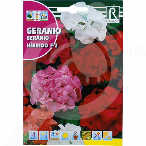 eu rocalba seed geraniums hibrido f 2 0 1 g - 0, small