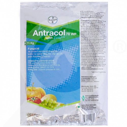 eu bayer fungicide antracol 70 wp 1 kg - 2, small
