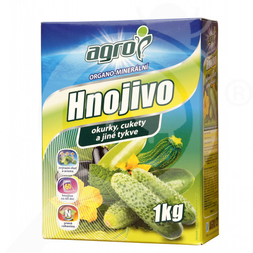 eu agro cs fertilizer organo cucumber courgette eggplant 1 kg - 0, small