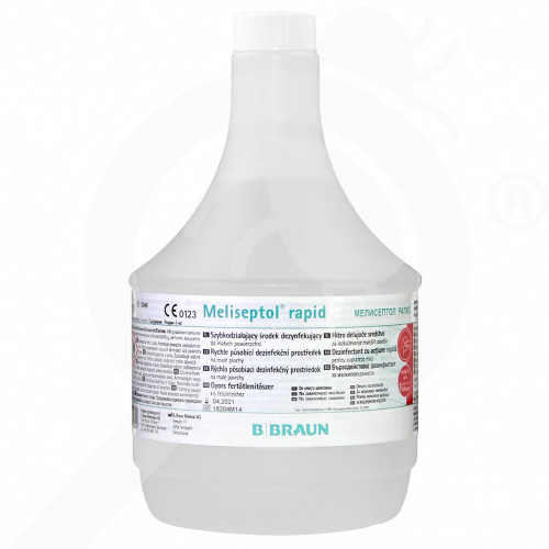 eu b braun disinfectant meliseptol rapid 1 l - 3, small
