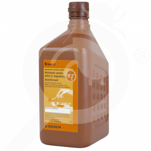 b braun disinfectant braunol 1 litre - 1, small