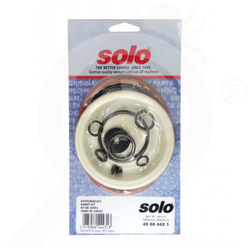 eu solo spare parts gasket set 475 473d 485 - 4, small