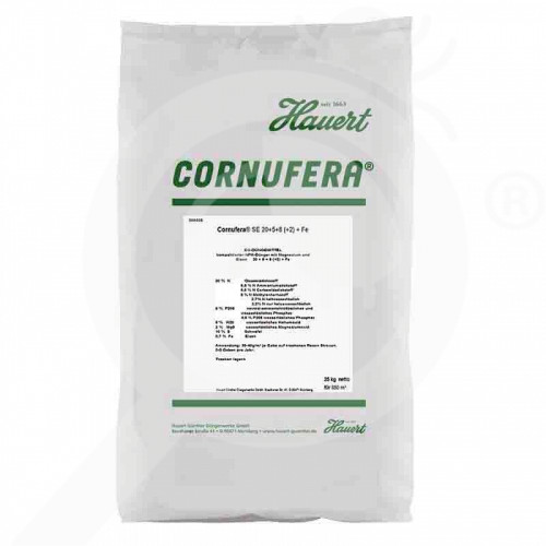 eu hauert fertilizer cornufera se fine granular 25 kg - 0, small