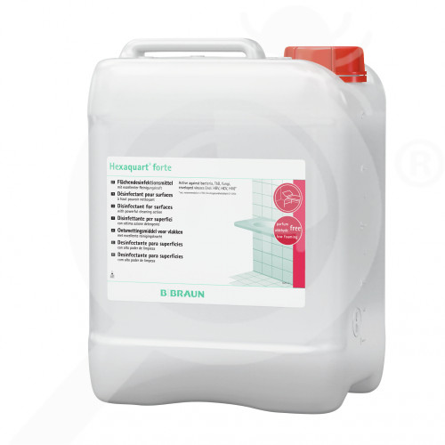 b braun disinfectant hexaquart forte 5 litres - 1, small