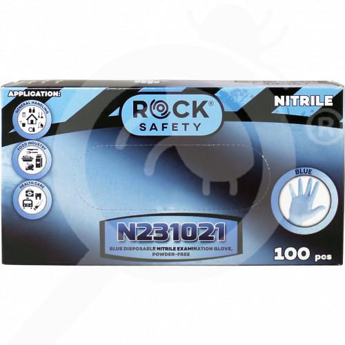 eu lyncmed safety equipment nitrile blue powder free l - 2, small