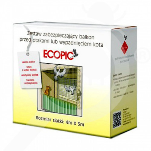 eu eu repellent bird net 50x50 mm 4x3 m - 0, small