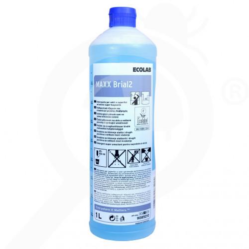 eu ecolab detergent maxx2 brial 1 l - 2, small