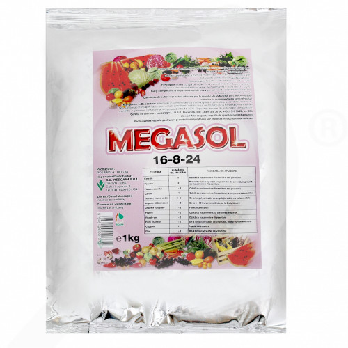 eu rosier fertilizer megasol 16 8 24 1 kg - 0, small