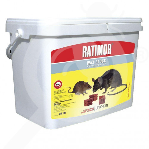 eu unichem rodenticide ratimor wax 1 p - 0, small