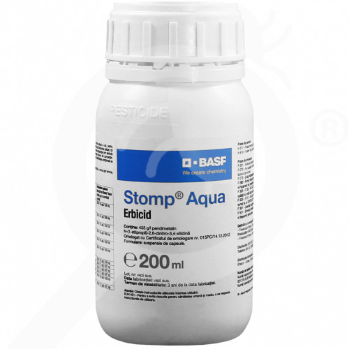 eu basf herbicide stomp aqua 200 ml - 1, small