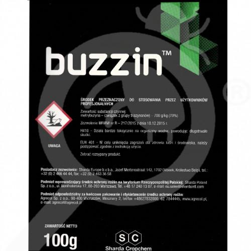 eu sharda cropchem herbicide buzzin 100 g - 0